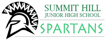 Summit Hill Jr. High Spartans Logo
