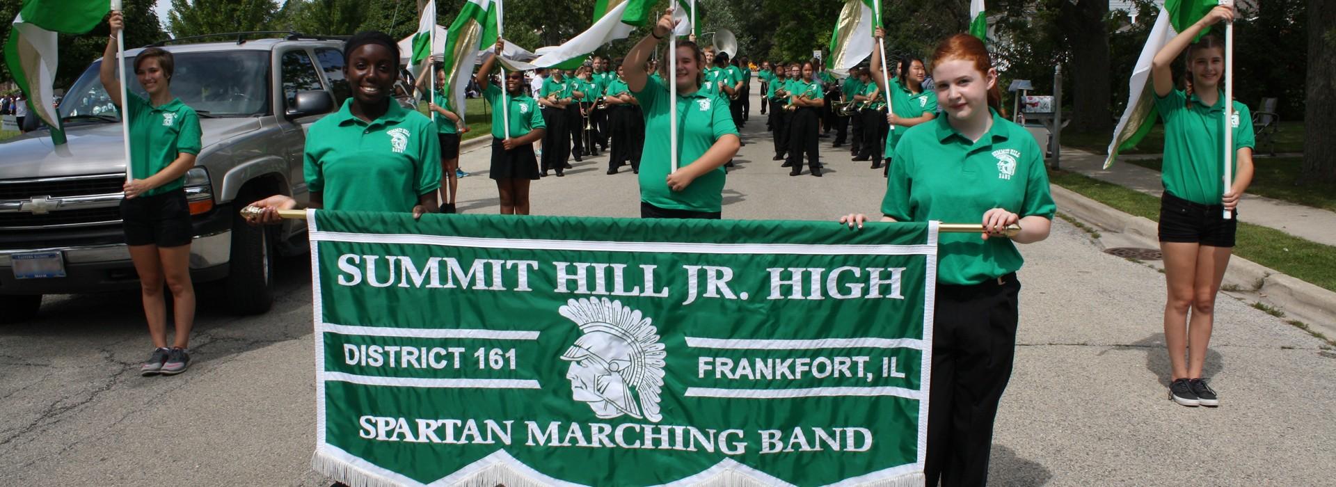 SHJH Marching Band
